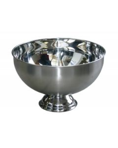 Punch /Champagnebowl Inox - D33xH23 cm