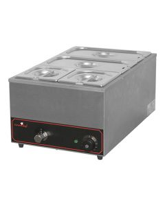 CaterChef, bain-marie, 2 x GN 1/3 + 2 x GN 1/6 - 150 mm