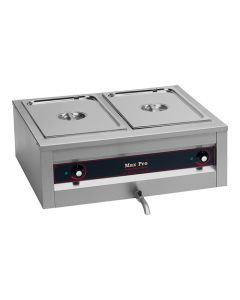 Max Pro, bain-marie, GN 2/1 - 200 mm