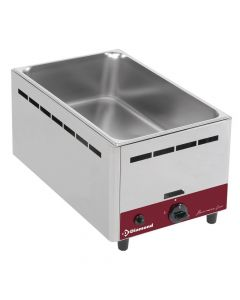 Diamond, bain-marie op gas, GN 1/1 - 150 mm